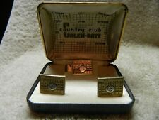 Country Club Calen-Date Tie Tack & Cuff Link Set.November 3 E3