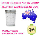 Ball Mason Wide Mouth Pint Jars and Lids Case of 12 BPA FREE Seed Sprout Jars