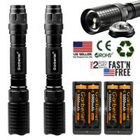 Tactical Police 900000Lumens T6 5Modes LED Flashlight Aluminum Torch Zoomable US