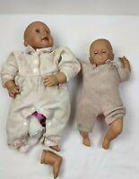 Vintage  Lot  of 2 Dolls for Parts restoration