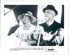 1995 Actor Director Michael Blakemore Greta Scacchi Country Life Press Photo