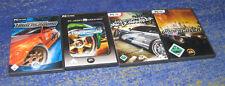 Need for Speed Underground 1 + 2 + Undercover + Wanted  Deutsch PC Sammlung