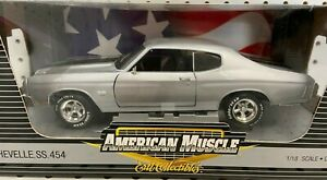ERTL American Muscle 1:18 1970 Chevelle SS 454 Limited Edition Model #33755 NEW