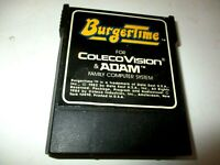 BURGER TIME - by DATA EAST - (Colecovision & Adam) Game Cartridge As shown