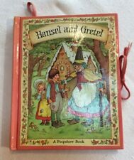 Peepshow Book Hansel and Gretel Mary McClain 1975 pop up hardback book