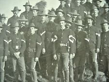 Original Large Photo Indian Wars US Cavalry Soldiers