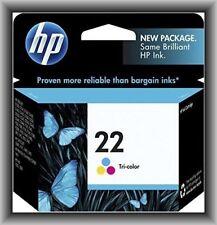 HP 22 Tricolor Ink Cartridge, Deskjet,Officejet,Photosmart Printers, EXP 2019