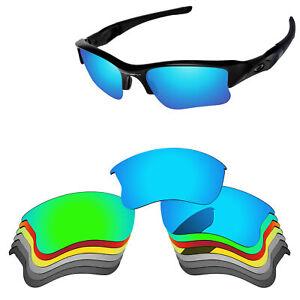 PapaViva Polarized Replacement Lens for-Oakley Flak Jacket XLJ Sunglass -Options