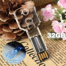 Chiavetta pendrive USB 2.0 Flash Drive capacità: 32GB con led luminoso