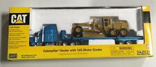 NORSCOT CAT HAULER WITH 12G MOTOR GRADER Semi & Trailer 1/64 NIB