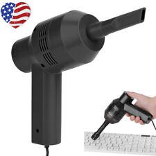 Mini Computer Vacuum USB Keyboard Cleaner PC Laptop Brush Dust Cleaning Kit US