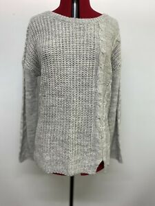 NWT - Table Eight Grey Knitted Jumper, Size Medium
