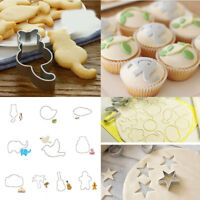 Cookie Biscuit Cake Mold DIY Cutter Animal Conch Cat Kitchen Pastry Baking Tools