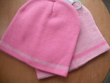 Toddlers Set of 2 Pink Beanie Hats   Sparkly BNWT  One Size