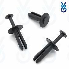 20x PARAURTI Rivetto Tagliare Clip Nero in Plastica per VAUXHALL CORSA ASTRA VECTRA ZAFIRA