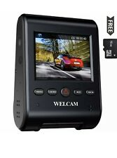 """New listing Welcam Car Dash Cam 2.4"""" Lcd Fhd 1080p 150° Wide Angle Dashboard Camera Recor."""