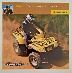 Vintage Poster Card 2004 Suzuki Twin Peaks 700 4 x 4 Quad Runner