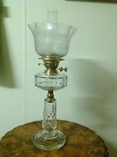 Antique Cut Crystal Kerosene Lamp