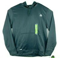RBX X Dri Mens Grey Active Pullover Hoodie Moisture Wicking Size L NWT MSRP $78.