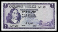 World Paper Money - South Africa 5 Rand ND 1967-74 P112b @ VF Cond.