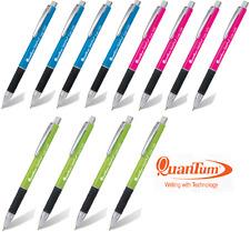 New 12 Quantum Geloplus 1245  Pink Green Blue All Blue Ink Ball Point Pen 0.7mm