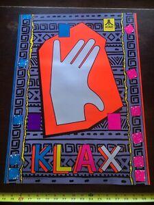 NOS Atari KLAX POSTER