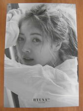 HYUNA - Following [OFFICIAL] POSTER K-POP *NEW* 4Minute