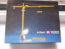 """Kibri Bausatz  H0 10202 Turmdrehkran """" Liebherr """" 63 EC Gelb  mit OVP"""