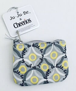 JuJuBe Coin Purse Cheerios Good Goes Round Brand New in Package Limited Edition