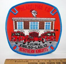 Philadelphia Fire Department Engine 50 Ladder 12 Northern Knights Sew On Patch
