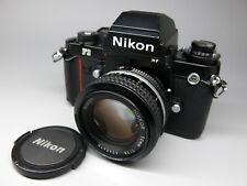 Nikon F3 HP 35mm SLR Film Camera W/Nikon Ai 50mm f1.4 Lens Black, F3 F-3 F3HP #2