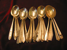 Vintage Silverplate Sugar Spoon Lot of 50 Mono Craft or Table Ready Flatware