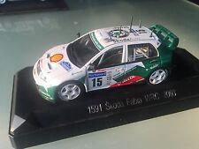 1/43 SOLIDO SKODA WRC N 15 GARDEMEISTER RALLY WRC TOUR DE CORSE 2003
