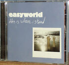 Easyworld - This is Where I Stand (2002 UK 11-Track CD Album)