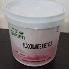 Flocculante pastiglie da 100 g. Solgarden confezioni da 5 Kg cod. 031192