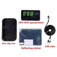 Car GPS HUD Head up Display Tacho Anzeige Speedometer Speed Warning Tachometer