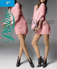 PLATINO BLOGGER 8 Denier Ultra Sheer Pantyhose Tights Hosiery Nylons Silk Sheen