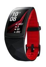 SAMSUNG Gear Fit 2 Pro Fitness Armband Uhr Silikon Rot NEU