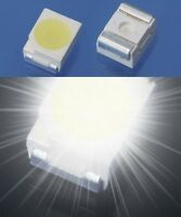 S164 - 50 Stück SMD LED PLCC-2 3528 weiß LEDs 1210 white
