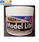 Delux Materials Model Lite Balsa Filler Balsa Brown: 240cc DLMBD6