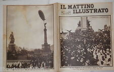 1924 Umberto Savoia Argentina Algeria Sahara Dirigibile Zeppelin Guerra Cina di