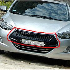 Front Hood Radiator Grille Phantom Black NKA 1p For 11 12 13 Hyundai Elantra MD