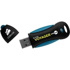 Corsair CMFVY3A-256GB Flash Voyager Usb 3 256gb Read Ext 190mbs Write 90mbs Plug