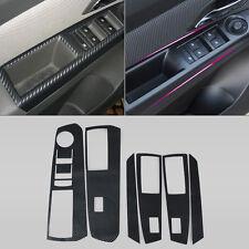 Fiber INTERIOR DOOR WINDOW SWITCH PANEL COVER TRIM For 2009-2014 Chevrolet Cruze