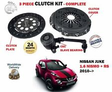 FOR NISSAN JUKE 1.6 NISMO RS DIG T 2010-> NEW CLUTCH PLATE COVER CSC BEARING KIT