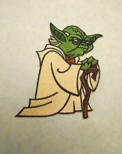Star Wars Clone Wars Yoda Animated Cartoon Iron on Patch