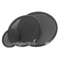 1PC 99//100.5//116//118mm Tweeter Speaker Cover Decorative Circle Metal Mesh Grille