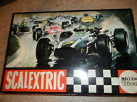 SCALEXTRIC meccano triang 50