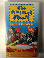 THE ANIMAL SHELF~ MUSIC IN THE WOODS + 4 OTHER STORIES ~ IVY WALLACE ~ VHS VIDEO