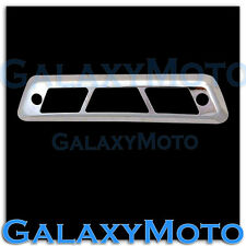 09-14 FORD F150 TRIPLE CHROME PLATED 3RD BRAKE Tail LIGHT Cover TRUCK TRIM THIRD